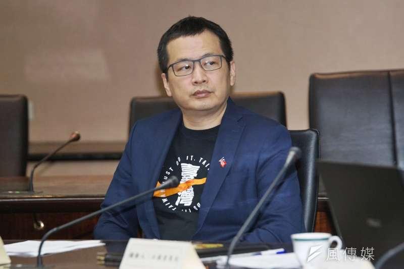為表達反萊豬立場,國民黨市議員羅智日前成立「我+1」粉絲專頁,推動罷免支持萊豬的立委。(資料照,盧逸峰攝)