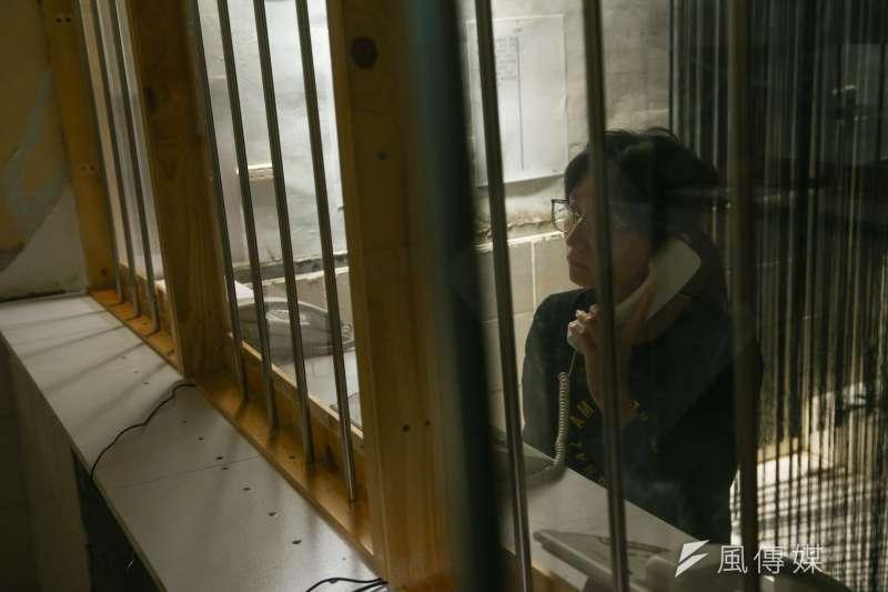 202001105-民間司法改革基金會等團體5日召開「海旺天光,邱和順被遺忘的32年特展開幕茶會暨記者會」。(顏麟宇攝)