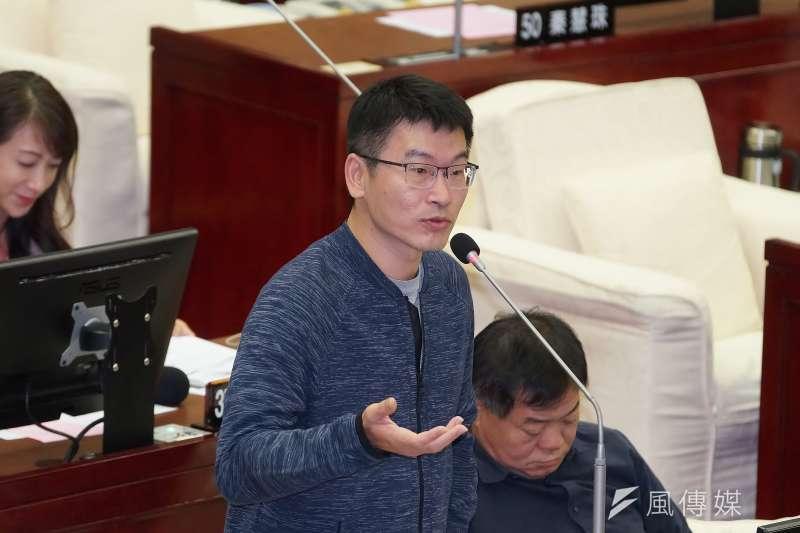 台北市議員梁文傑(見圖)表示,本福島5縣食品不可能永遠不能進台灣。(資料照,盧逸峰攝)