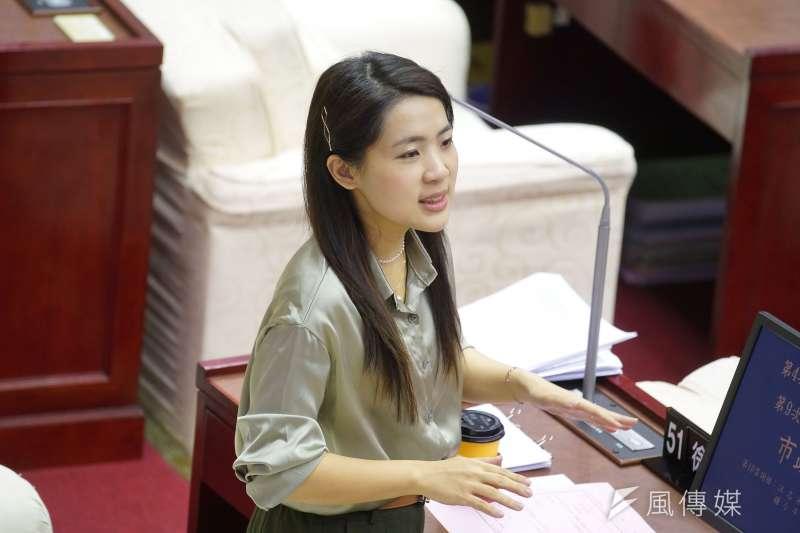 台北市議員徐巧芯(見圖)指出,中廣董事長趙少康不論當不當國民黨主席,都應在2022年出來輔選。(資料照,盧逸峰攝)
