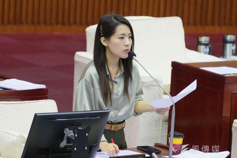 台北市議員徐巧芯12日於臉書指控發言人丁怡銘「萊牛」事件,是行政院出大包的政治攻擊。(資料照,盧逸峰攝)