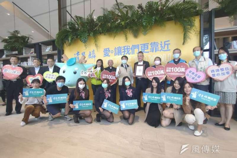 清景麟建築團隊發起「築愛台南」活動,將取之社會,用之社會的理念,以實際行動回饋台南在地團體。(圖/徐炳文攝)