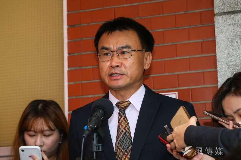 農委會主委陳吉仲指出,萊克多巴胺在牛肉與豬肉的代謝速度很快,殘留量可以通過安全容許量。(資料照,顏麟宇攝)