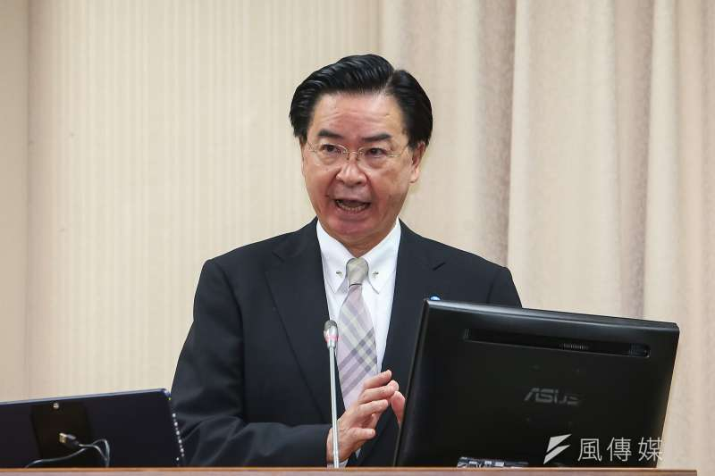 外交部4日表示,與南美國家蓋亞那外交部達成共識,決定在該國設立「台灣辦公室」。圖為外交部長吳釗燮。(資料照,顏麟宇攝)