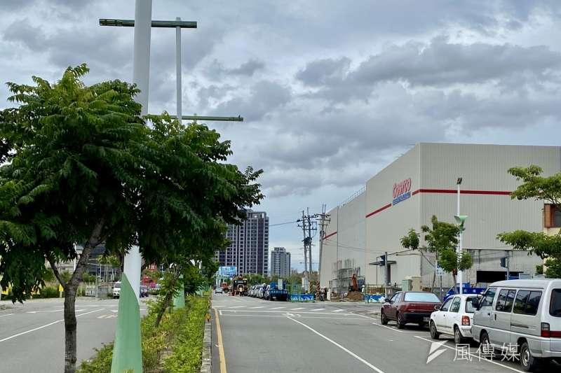 台中北屯區未來有4間商場進駐,其中Costco北台中店將在20日開幕。(林喬慧攝)