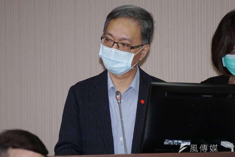 20201116-衛福部次長薛瑞元16日於立法院衛環委員會備詢。(盧逸峰攝)