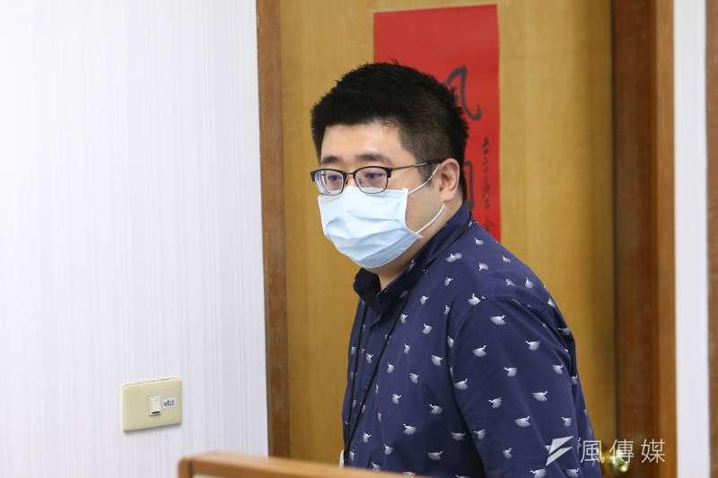 民進黨副秘書長林鶴明在臉書發文酸前老闆柯文哲。(資料照片,顏麟宇攝)