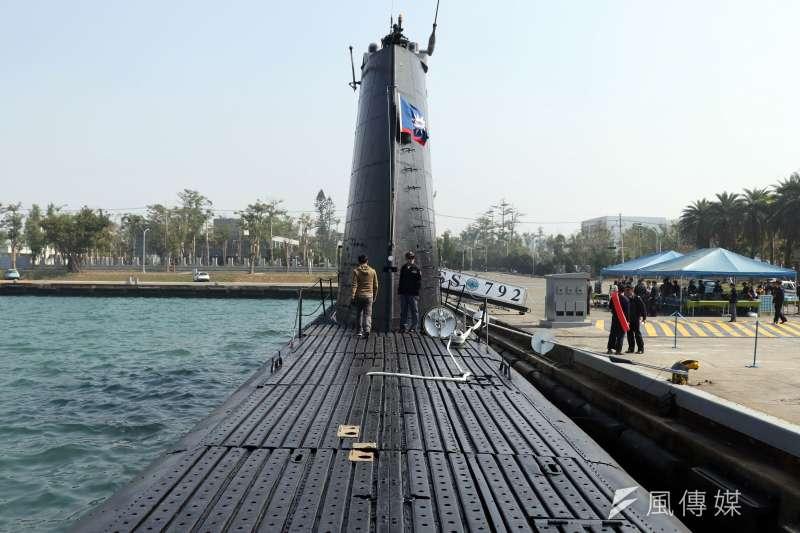 海軍部隊以2艘美製茄比級「海獅」與「海豹」潛艦最為老舊聞名,因為服役迄今艦齡已逾70年,這在國外早已是博物館展品的等級。(蘇仲泓攝)