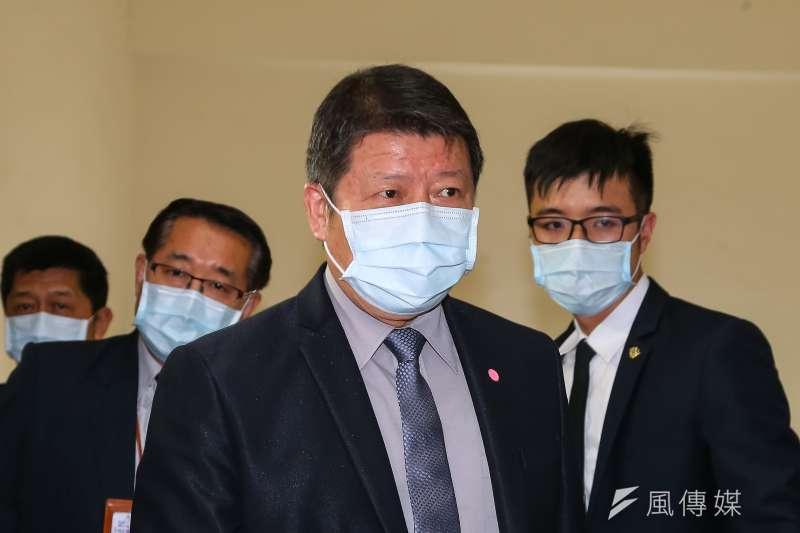 國防部副部長張哲平18日出席立院委員會。(顏麟宇攝)