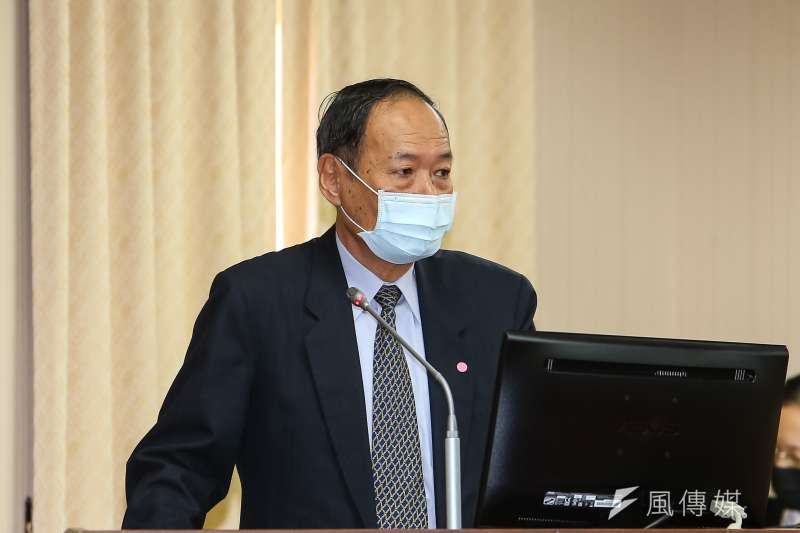 20201118-海委會主委李仲威18日於立院內政委員會備詢。(顏麟宇攝)