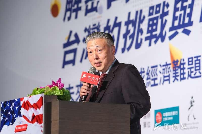 日月光半導體總經理暨執行長吳田玉19日出席「解密白宮新主人,台灣的挑戰與可能」風傳媒高峰論壇。(資料照,顏麟宇攝)