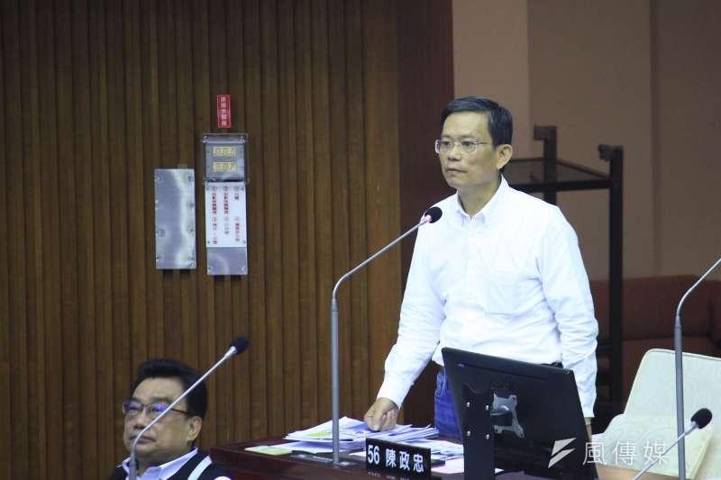 20201119-台北市議員陳政忠。(方炳超攝)