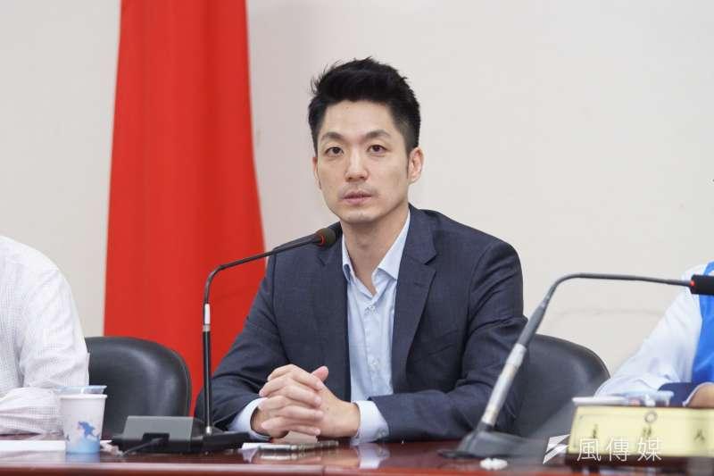 國民黨立委蔣萬安(見圖)認為,沒有政治世家背景反而可以是從政路上的助力和優勢。(資料照,盧逸峰攝)