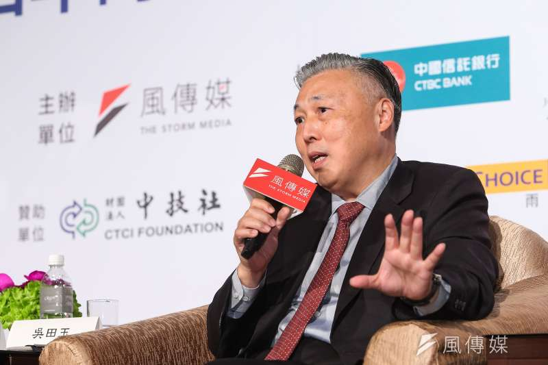 日月光半導體執行長吳田玉19日出席「解密白宮新主人,台灣的挑戰與可能」風傳媒高峰論壇。(資料照,顏麟宇攝)