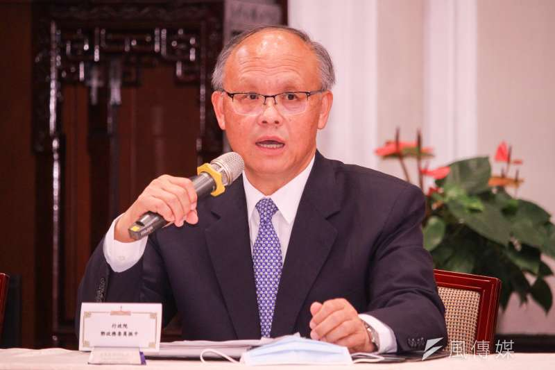 鄧振中代表台灣,在10日晚間透過視訊,與美國就貿易議題進行對話。(資料照,蔡親傑攝)