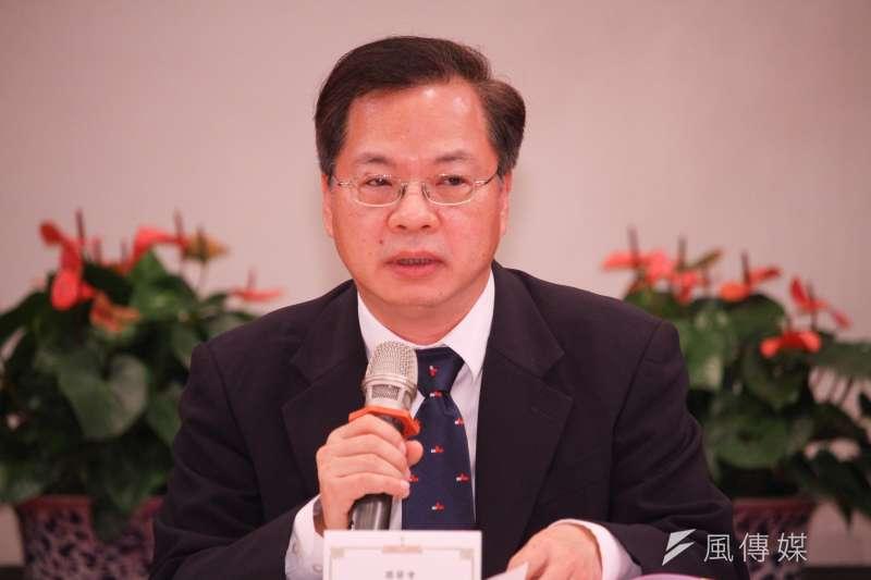國發會主委龔明鑫宣布政府打炒房五大措施。(資料照片,蔡親傑攝)