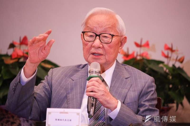 亞太經合會(APEC)經濟領袖會議昨晚登場,領袖代表張忠謀(見圖)在記者會上證實,和新加坡總理李顯龍有進一步互動。(蔡親傑攝)