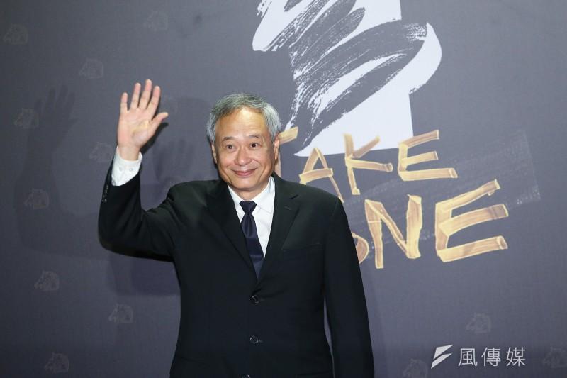 20201121-第57屆金馬獎星光大道,本屆主席導演李安。(顏麟宇攝)