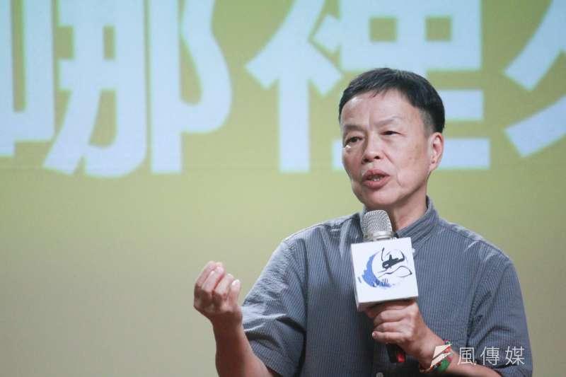 王小棣認為,困難有時候不只為難了自己,也為難了別人,所以困難不是單方面可以解決的。(方炳超攝)