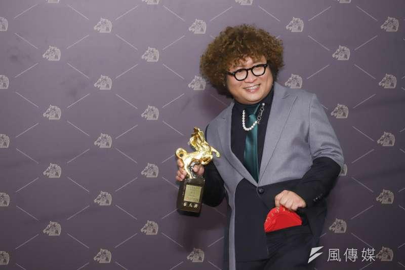 20201121-第57屆金馬獎頒獎典禮,最佳男配角納豆。(陳品佑攝)