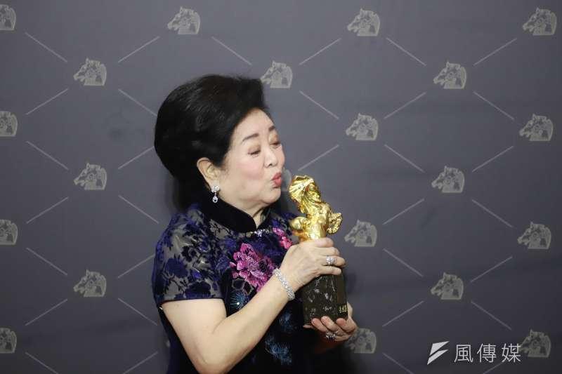 20201121-第57屆金馬獎,最佳女配角陳淑芳。(陳品佑攝)