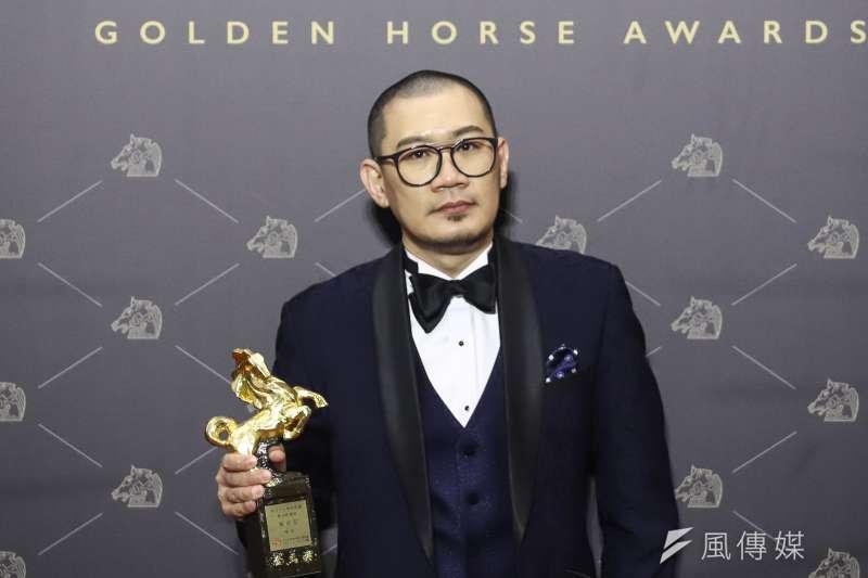 第57屆金馬獎,最佳新導演張吉安。(陳品佑攝)