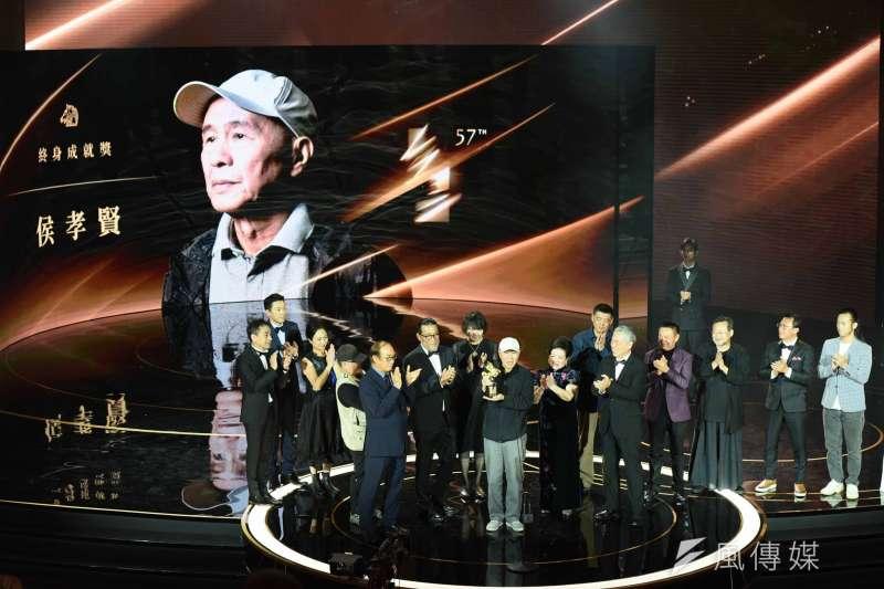 20201121-第57屆金馬獎,終身成就獎侯孝賢導演。(陳品佑攝)