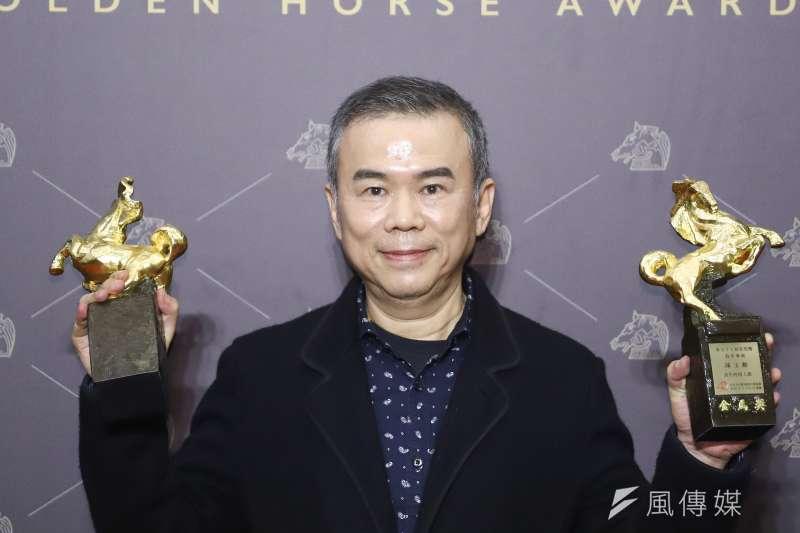 導演陳玉勳以《消失的情人節》奪下最佳導演、最佳原創劇本,他表示,最佳導演獎項,自己已經等了25年。(陳品佑攝)