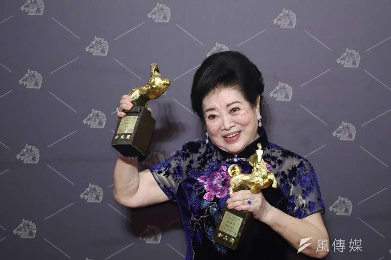 20201121-第57屆金馬獎,最佳女主角陳淑芳(孤味)。(陳品佑攝)