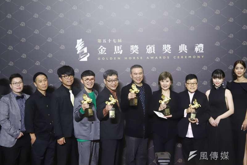 《消失的情人節》抱回最佳劇情片、最佳導演等5大獎,榮登年度大贏家。(陳品佑攝)