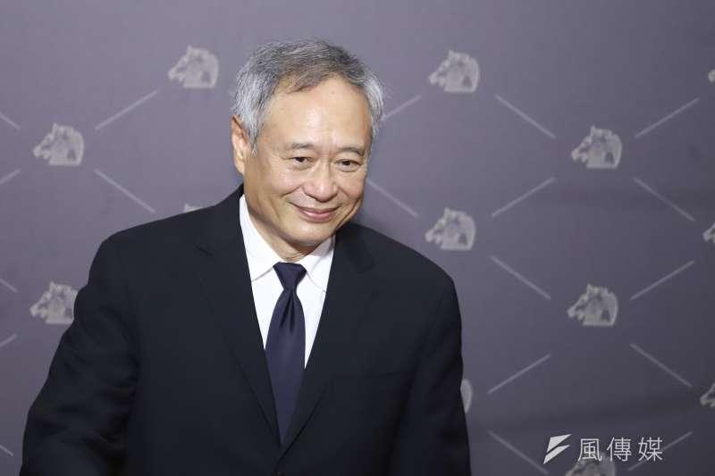 20201121-第57屆金馬影展執委會主席李安。(陳品佑攝)