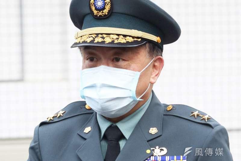 20201121-後備指揮官姜振中(蘇仲泓攝)