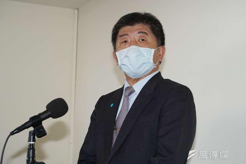 秋冬防疫專案12/1上路,陳時中提醒這8大場合務必戴口罩。(資料照,盧逸峰攝)