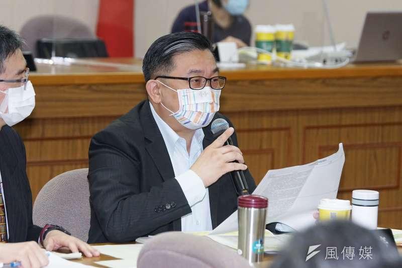 徵信業者出面爆料,除了王定宇(圖),民進黨還有17位政治人物被跟拍。(資料照,盧逸峰攝)