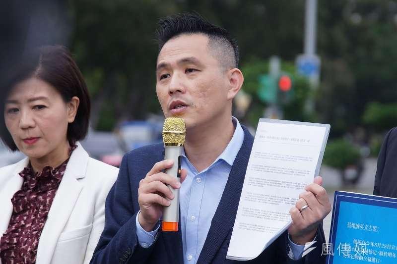 陸委會提出3大方向研議放寬港人來台,國民黨立委陳以信認為這些做法恐緩不濟急。(資料照,盧逸峰攝)