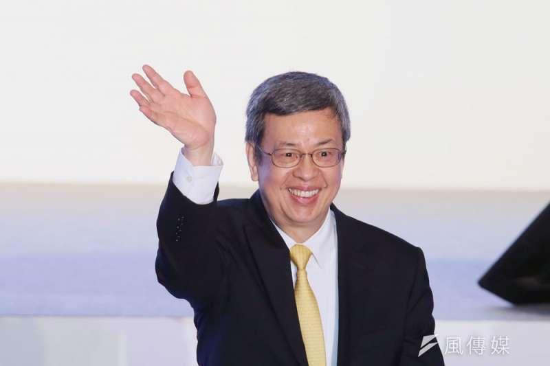 陳建仁若任閣揆,處理民進黨派系會是重大考驗。(柯承惠攝)