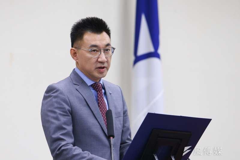 20201125-國民黨主席江啟臣25日於中常會發表談話。(顏麟宇攝)