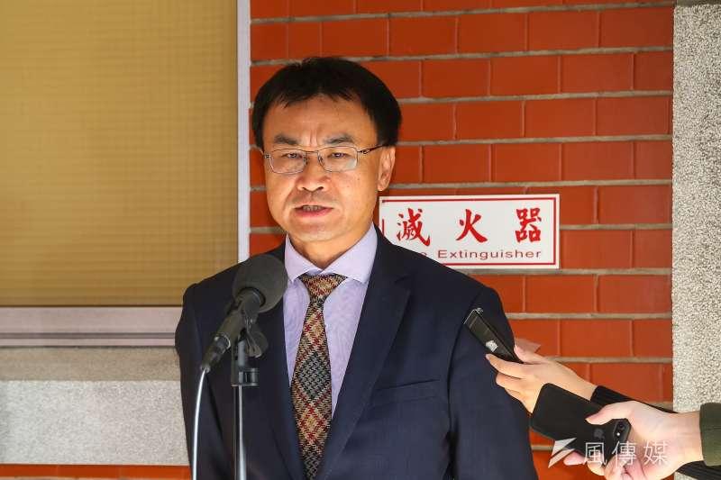20201125-農委會主委陳吉仲25日於立院接受媒體聯訪。(顏麟宇攝)