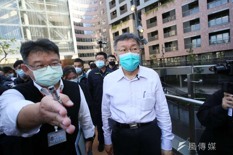 台北市長柯文哲5日強調,社宅是一邊興建、一邊發現新問題。(資料照,柯承惠攝)