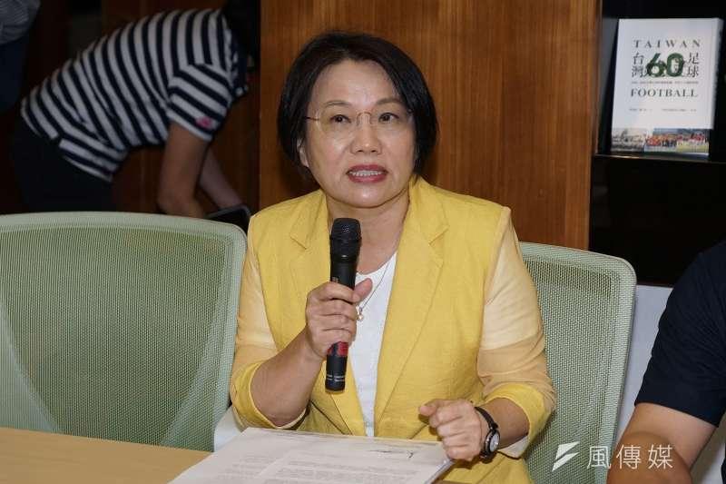 劉世芳以台灣國會議員的身分,參與英國人工智慧研究院與聯合國共同舉辦之跨國國會議員諮詢會議。(資料照,盧逸峰攝)