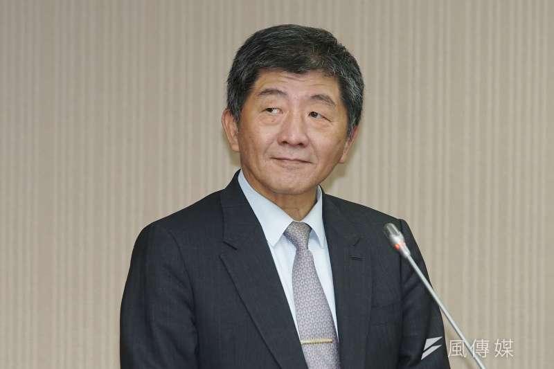 20201126-衛福部長陳時中26日於衛環委員會備詢。(盧逸峰攝)