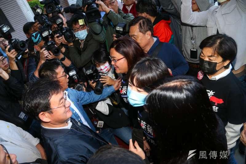 民進黨公布民調,指6成受訪者不支持藍委杯葛行政院長蘇貞昌施政報告。(資料照片,顏麟宇攝)