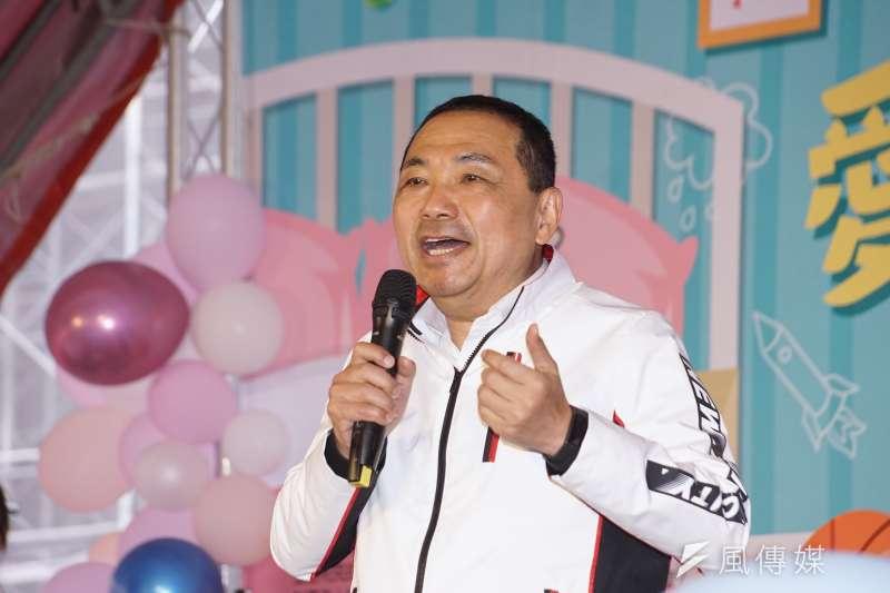 新北市長侯友宜(見圖)表示,衛福部長陳時中應處理好萊豬議題。(資料照,盧逸峰攝)