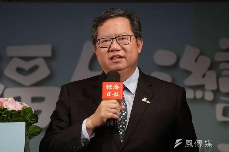桃園市長鄭文燦(見圖)將於2022結束第二任期,未來是否問鼎2024總統大選備受關注。(資料照,盧逸峰攝)
