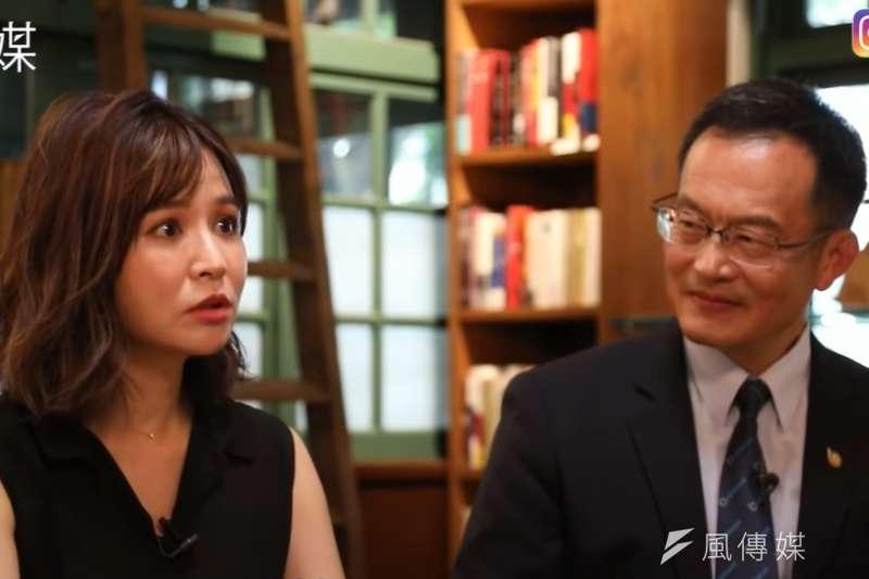 藝人吳怡霈分享自己在買房時的坎坷殺價歷程。(圖/取自youtube)