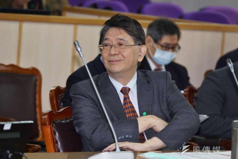 20201130-立法院秘書長林志嘉30日於司法法制委員會備詢。(盧逸峰攝)