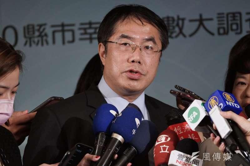 台南市長黃偉哲(見圖)9日公布小內閣人事調動名單。(資料照,盧逸峰攝)