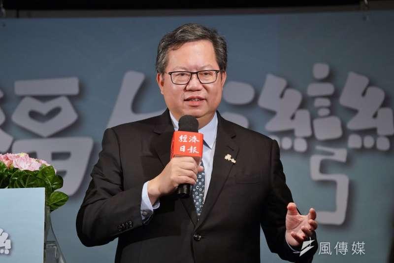 據《TVBS》最新六都市長民調顯示,桃園市長鄭文燦(見圖)施政滿意度高達69%,僅次於新北市長侯友宜。(資料照,盧逸峰攝)