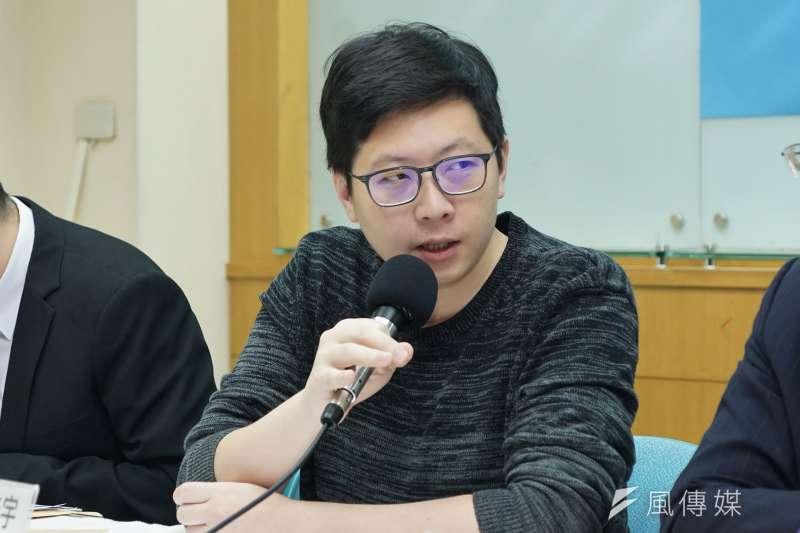 民進黨籍桃園市議員王浩宇今遭罷免成功,震撼黨內上下。(資料照,盧逸峰攝)