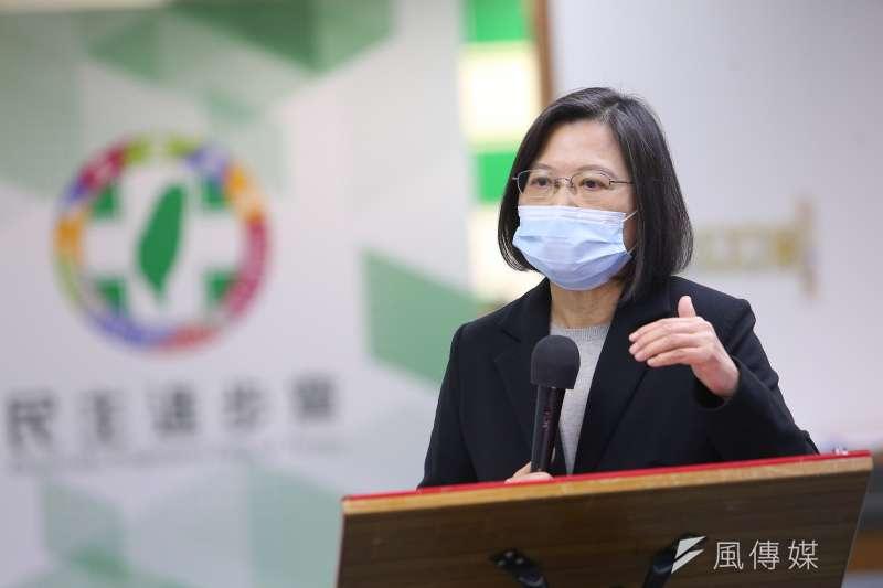 總統蔡英文因台灣總體利益及開啟台灣走向全球經濟新舞台,選擇進口萊豬及可能開放日本核災區食品而惹議。(資料照,顏麟宇攝)